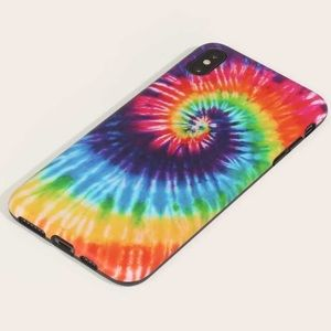 Tie Dye Phone Case iPhone 11 Psychedelic Bright